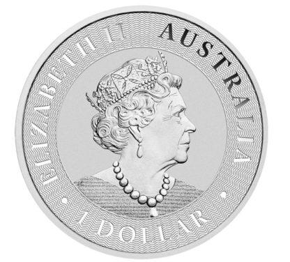 Australijski Kangur 1oz srebro 2