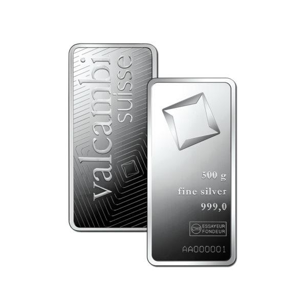 Valcambi 500g srebro
