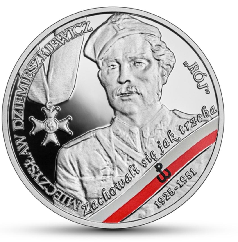 10 zł srebrna moneta Mieczysław Dziemieszkiewicz Rój