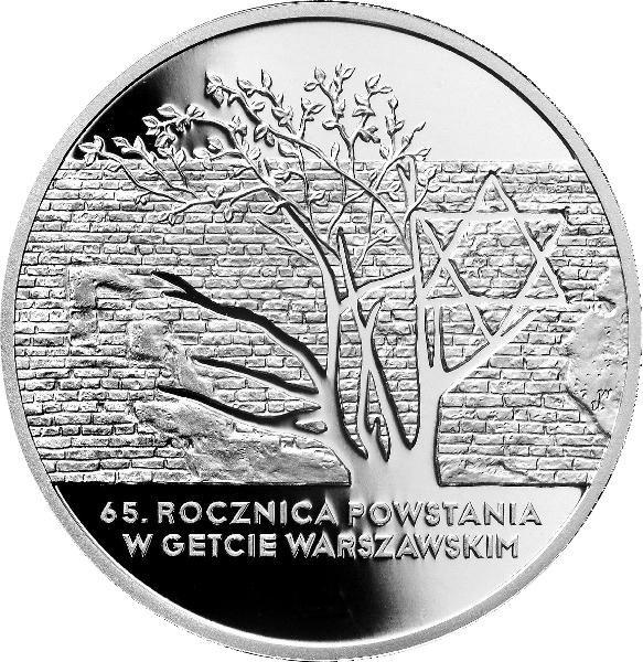 2008_65_rocznica_powstania_w_getcie_srebrna_moneta_20zl_rewers