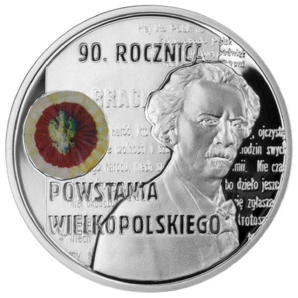 2008_90_rocznica_powstania_wielkopolskiego_srebrna_moneta_10zl_rewers