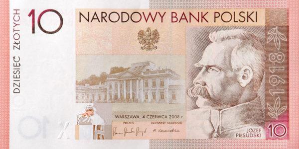 2008_banknot_90_rocznica_odzyskania_niepodleglosci_10zl_przod