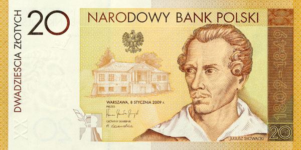 2009_banknot_200_rocznica_urodzin_juliusza_slowackiego_20zl_przod