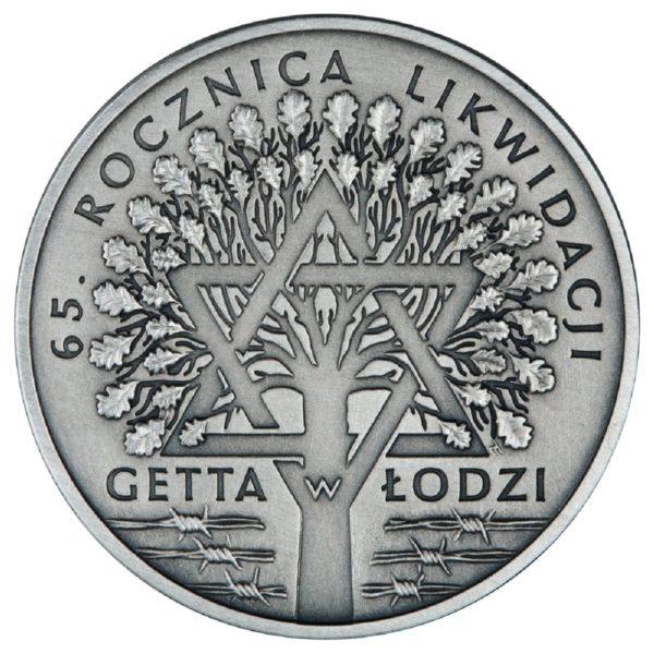 2009_rocznica_likwidacji_getta_w_lodzi_srebrna_moneta_20zl_rewers