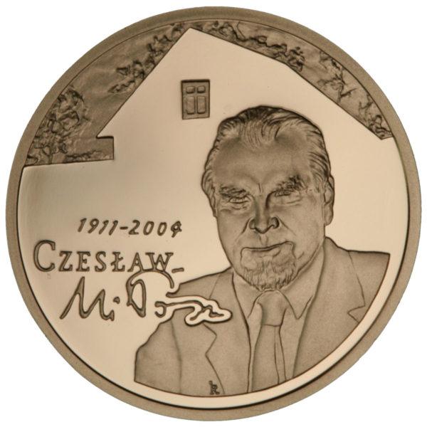 2011_czeslaw_milosz_zlota_moneta_200zl_rewers
