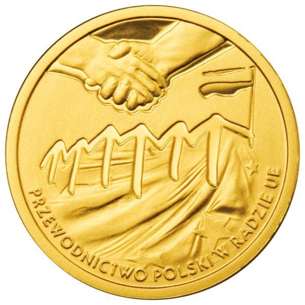 2011_przewodnictwo_polski_w_ue_zlota_moneta_100zl_rewers