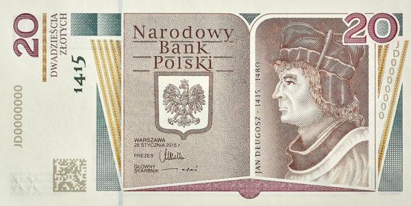 2015_banknot_kolekcjonerski_dlugosz_20zl_przod