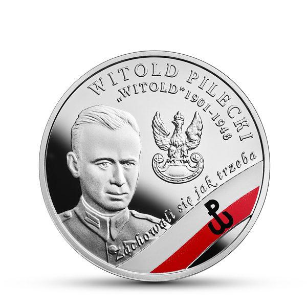 2017_Witold_Pilecki_srebrna_moneta_10zl_R