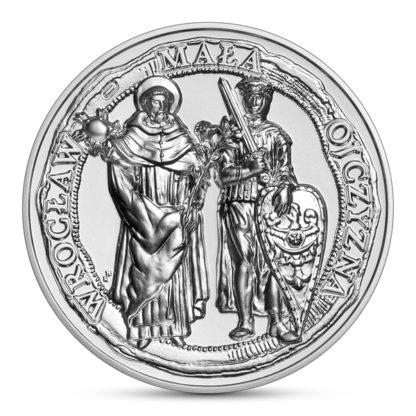 50 zł Wrocław - mała ojczyzna srebrna moneta 2021 rewers - GoldBroker.pl