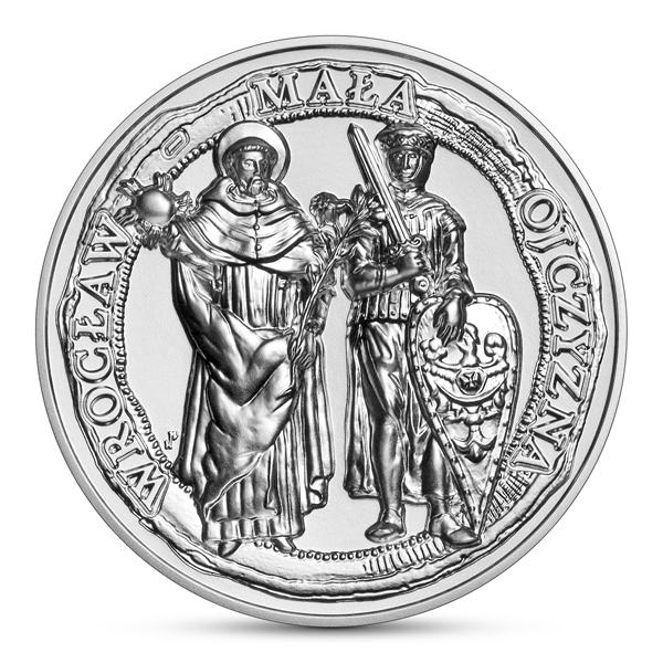 Wrocław – miasto upamiętnione nasrebrnej monecie kolekcjonerskiej