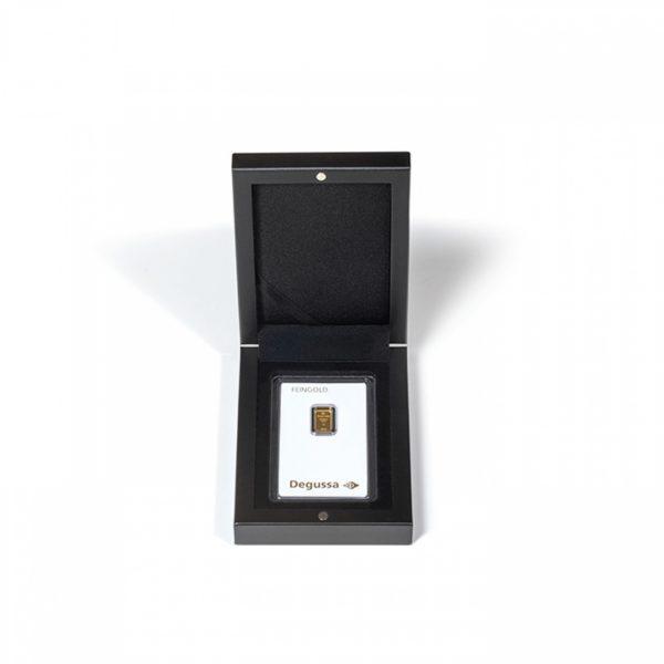 Etui Volterra na 1 sztabkę złota w blistrze kolor czarny GoldBroker.pl