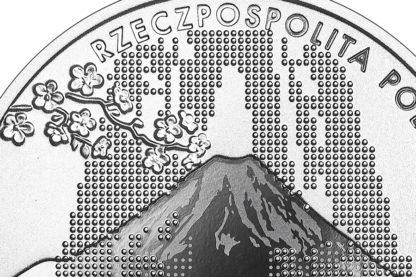 10 zł srebrna moneta reprezentacja olimpijska Tokio 2021 awers detal = GoldBroker.pl