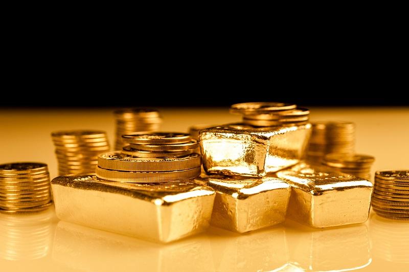 Złoto inwestycyjne - złote sztabki i monety - ich waga wyrażona jest w uncjach - GoldBroker.pl