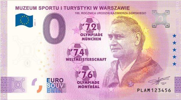 0 euro 100. rocznica urodzin Kazimierza Górskiego  - GoldBroker.pl