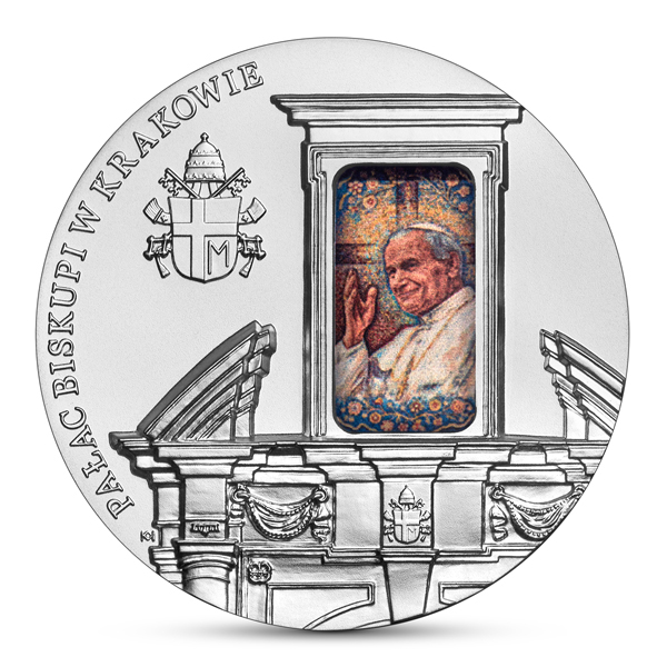 50 zł Pałac Biskupi w Krakowie srebrna moneta rewers - GoldBroker.pl