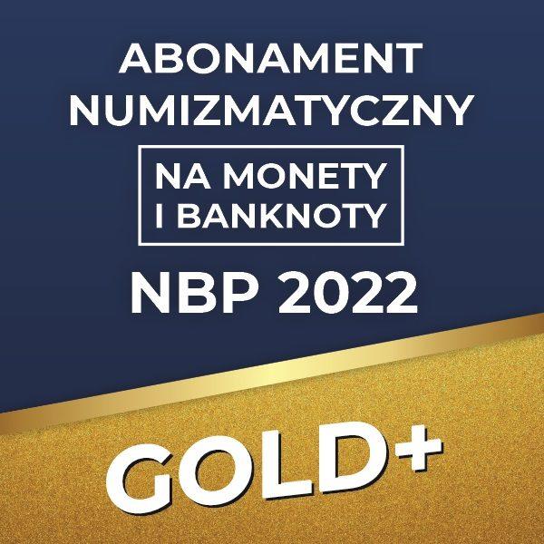 Abonament numizmatyczny na monety i banknoty NBP 2022 GOLDplus - GoldBroker.pl
