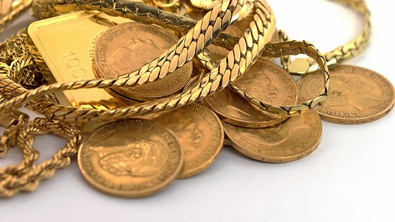 Złoto jubilerskie i złoto bulionowe - złote łańcuszki, sztabki i monety bulionowe - GoldBroker.pl
