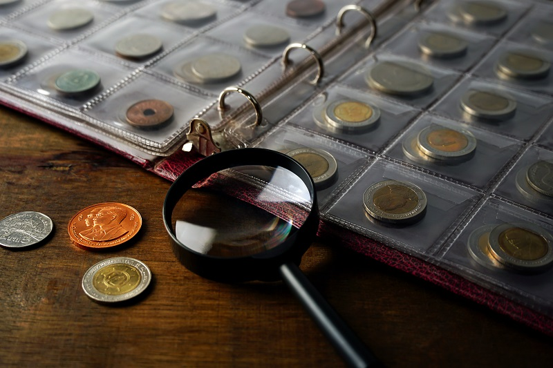 Inwestowanie w monety kolekcjonerskie  - GoldBroker.pl